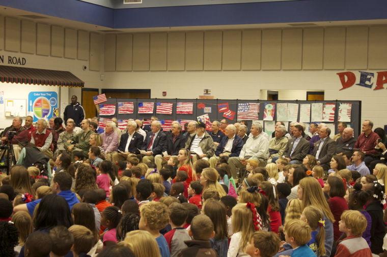 Dean Road Elementary Veterans Day Program