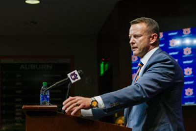 Auburn head coach Bryan Harsin
