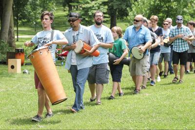 Community drum line