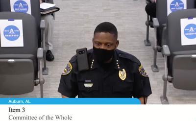 Police Chief Cedric Anderson