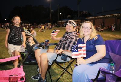 Family at July 4