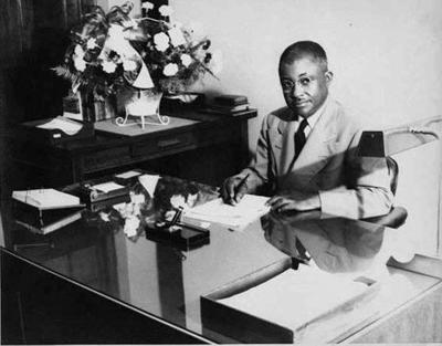 Dr. Joseph Fanning Drake, the namesake of Drake High School, an African-American school founded in 1957
