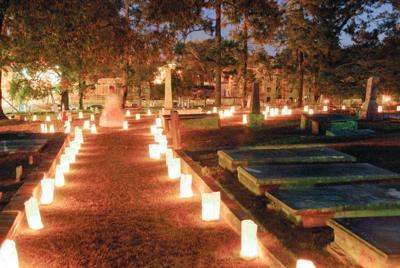 Pine Hill Cemetery Lantern Tour