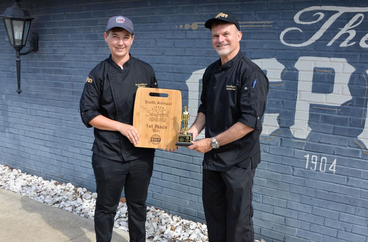 Alabama Seafood Cook-Off Win