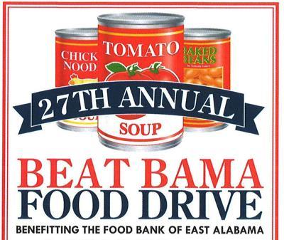 Beat Bama Food Drive