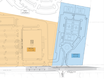 Proposed Hamilton Place PDD office plan