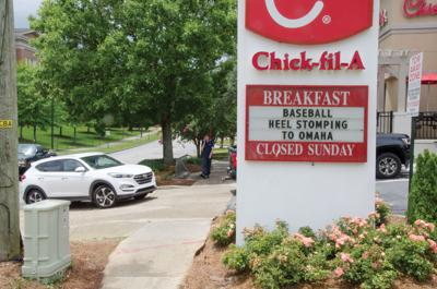 Chick-fil-A drive-thru