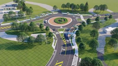 Cox-Wire roundabout
