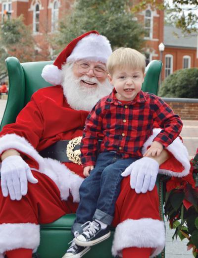 Santa on the Corner
