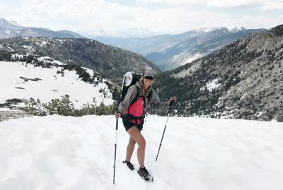 Jessica Mills in the Sierra Nevada