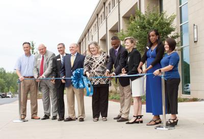 Ribbon Cutting of Auburn High School
