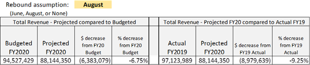 Total Revenue Projections