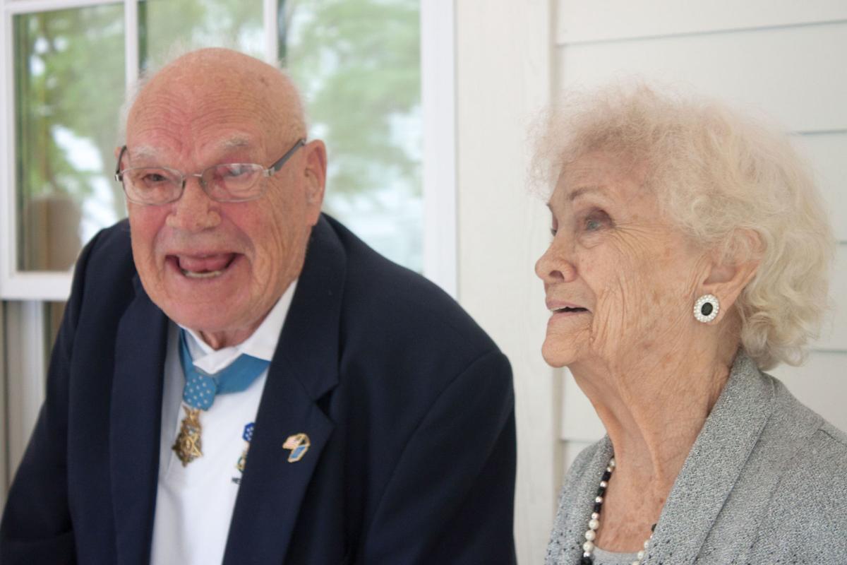 Bennie and Mary Adkins