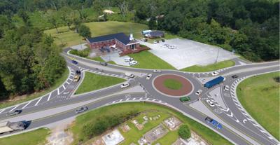 Farmville roundabout
