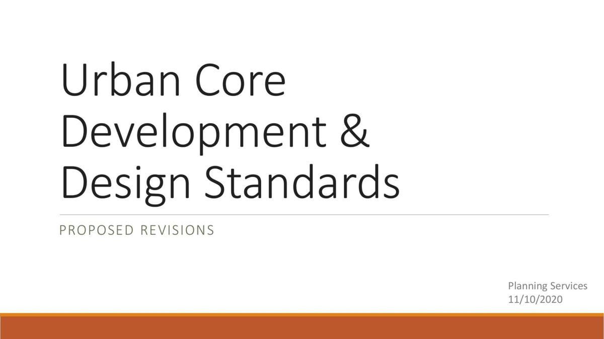Development and Design Standards