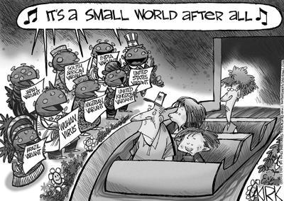 Editorial cartoon, May 3, 2021
