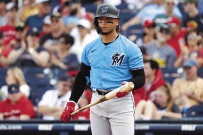 Marlins-Diaz Opts Out Baseball