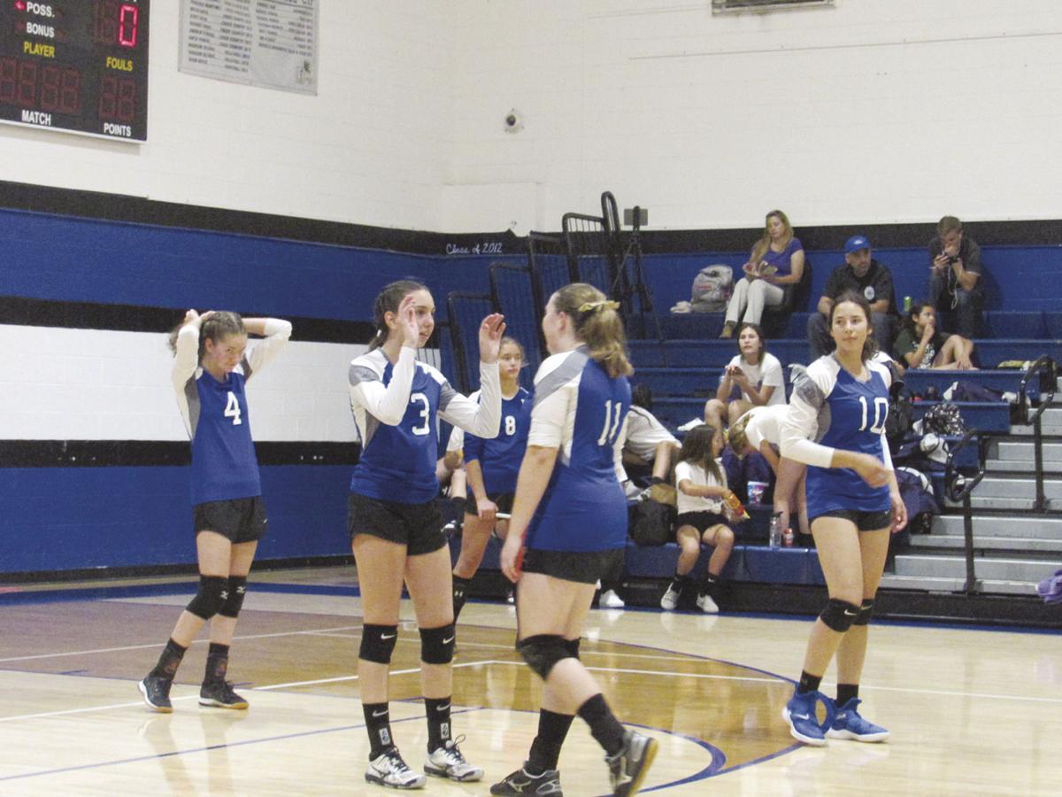 desert christian girls volleyball