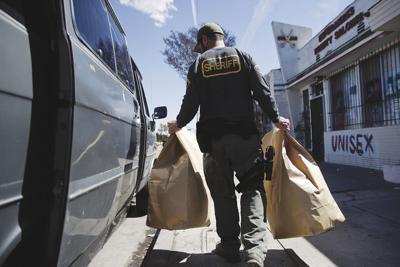 California Marijuana-Illegal Shops