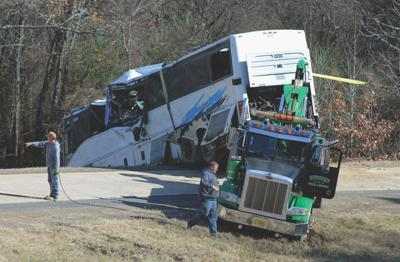 Charter Bus Crash Arkansas