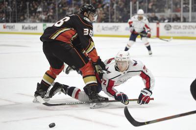 Capitals Ducks Hockey