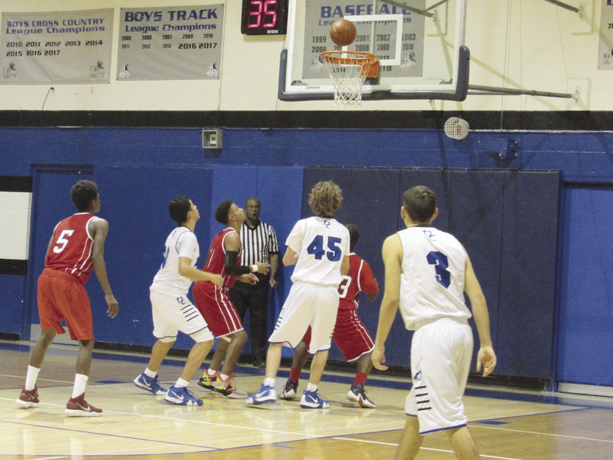 Desert Christian boys basketball