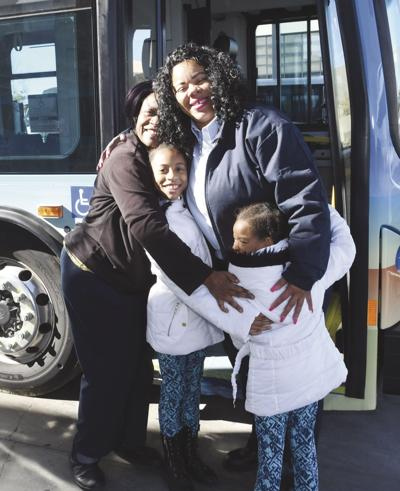 Bus driver honored
