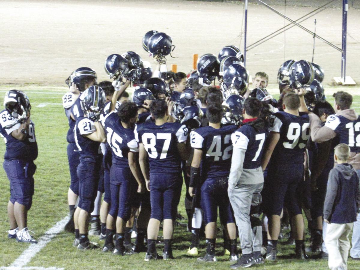 Lancaster Baptist football team