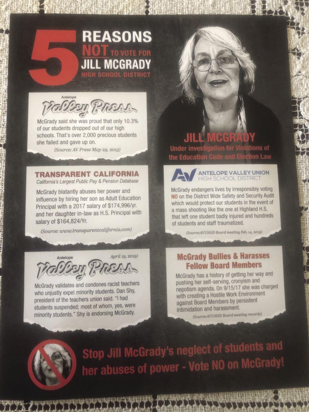 McGrady hit mailer 2