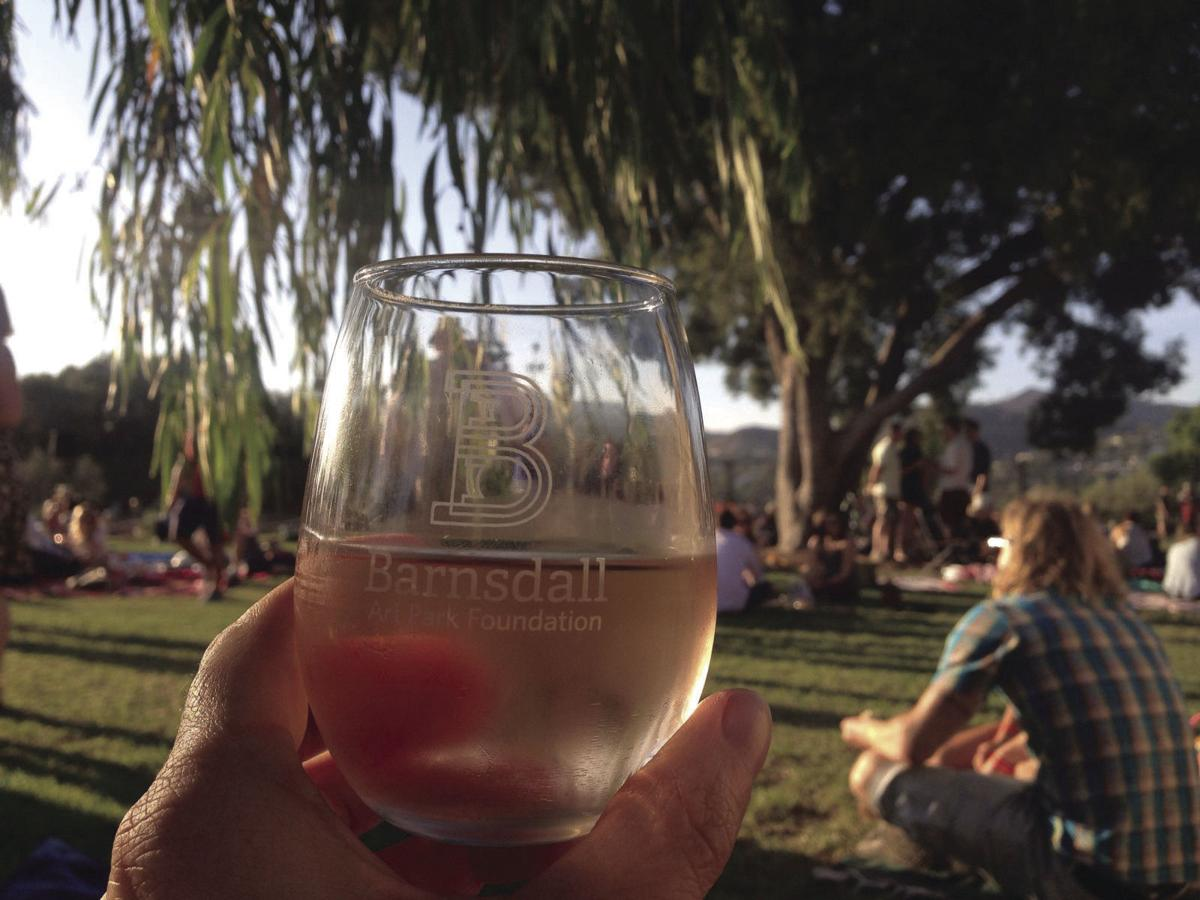 Barnsdall Art Park Wine