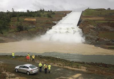 Dam's spillway gets first use since 2017 flooding   News   avpress com
