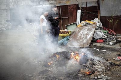 Romania Burning Metal