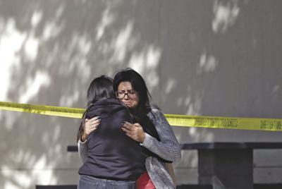 APTOPIX California Bar Shooting