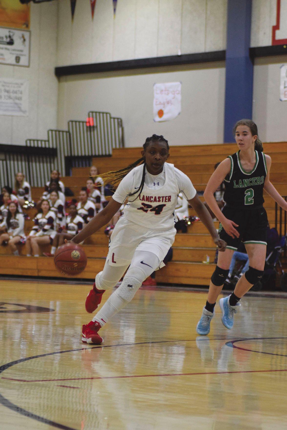 Lancaster girls basketball 1