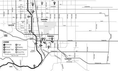 Crime map, Nov. 26, 2020