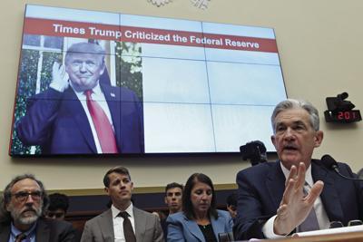APTOPIX Federal Reserve Powell