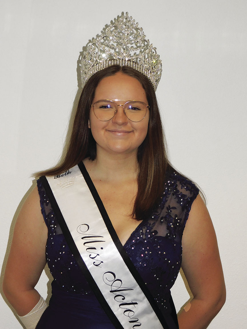 Beth Grassman Miss Acton 2019