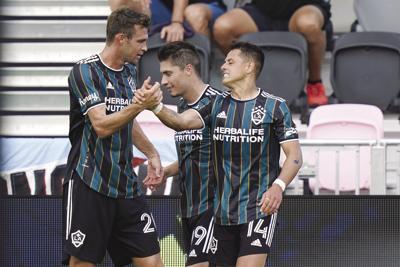 MLS LA Galaxy Inter Miami Soccer