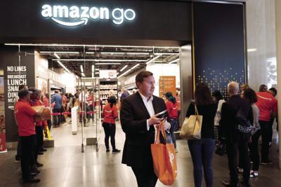 Amazon Go Taking Cash