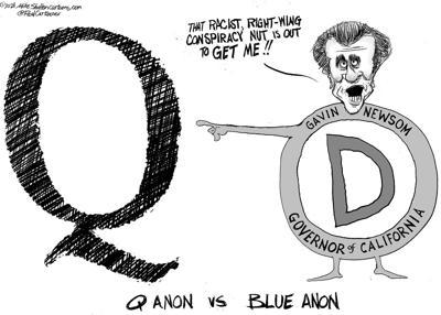 Editorial cartoon, March 22, 2021