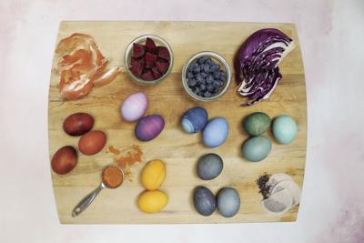 NATURAL DYED EGGS 2