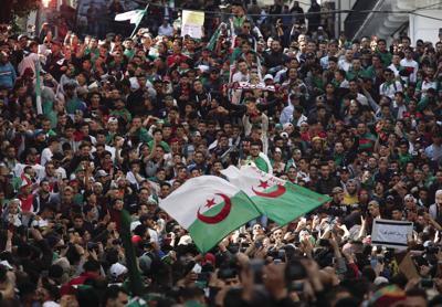 APTOPIX Algeria