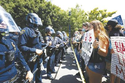San Diego Police-Protests