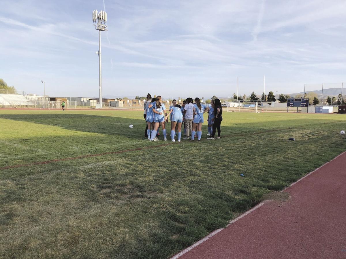 Quartz Hill girls soccer team