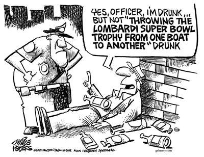 Editorial cartoon, Feb. 22, 2021