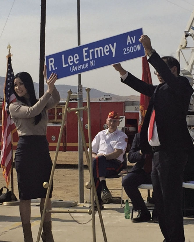 R. Lee Ermey Boulevard 1