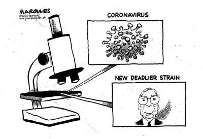 Editorial cartoon, Jan. 4, 2021