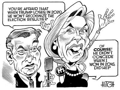Hitch Cartoon