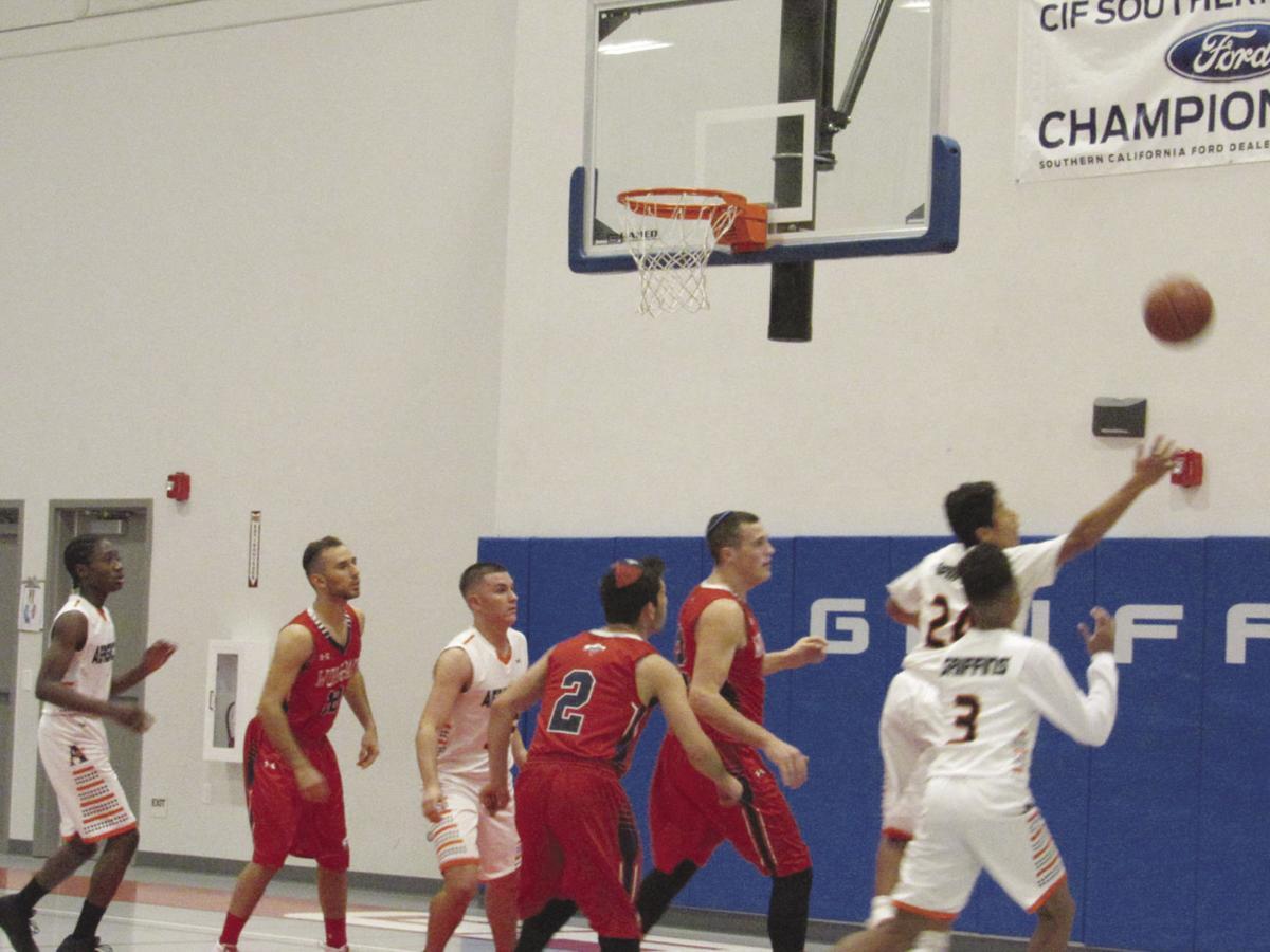 Palmdale Aerospace Academy boys basketball