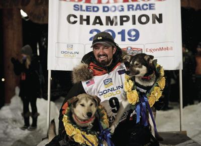 APTOPIX Iditarod Trail Sled Dog Race